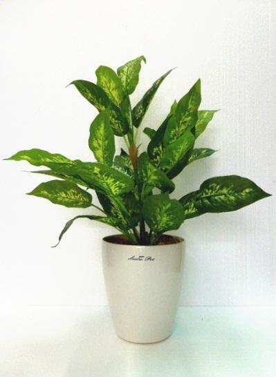 ●代引き不可送料無料デフェンバチア人工観葉植物 造花 91604の画像