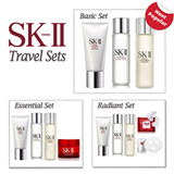 SK-II Set - For your everyday skincare needs. Best Seller items for trial or travel: Gentle Cleanser Clear Lotion Essence Stempower signs eyemask treatment mask