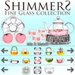 Teapot Set - Mix and Match your Perfect Teapot Set - SHIMMERS FINE GLASS COLLECTION