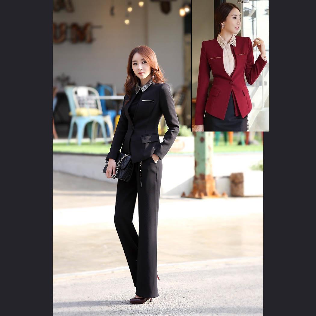 【送料無料】2点セット パンツスーツ レディーススーツ 通勤やリクルート 就活 ビジネススーツ 事務服 制服に 大きいサイズ OL 卒業式スーツ ブラックdg123d3d3q2