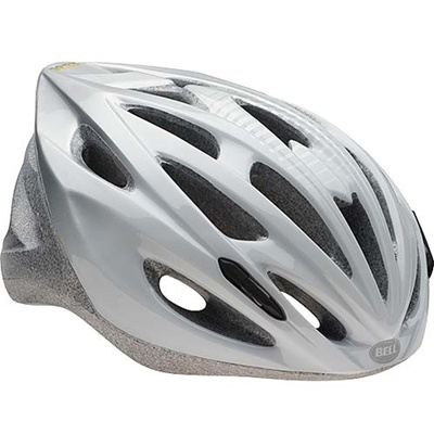 ベル(BELL) ヘルメット SOLAR / ソーラー ROAD SPORTS ホワイト/シルバースコアボード U/54-61cm 【自転車 サイクル レース 安全 二輪】の画像