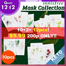 ★10+2 NEVER BEFORE EVENT★[Innisfree] New my real squeeze mask pack x10sheets