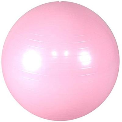 ラッキーウエスト(Luckywest)ヨガボール55cmパールピンクLG-323【バランスボール/空気入れ付き】