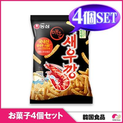 【韓国お菓子4個セット】【農心】辛いセウカン 4個セット snack / hot 【YDKG-s】の画像