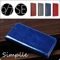 【磁気カードを入れたい方に】 iPhone7 手帳型ケース iPhone6 iPhone5 iPhone6s iPhoneSE ケース  手帳型カバー 手帳型 財布型  シンプル カード収納 パス入れ