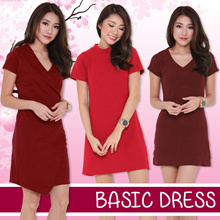 ★Basic Casual Dress Off Shoulder★ Ladies Trendy Fashionable Work OL Dress Best Price! Fast Delivery