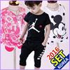 2016 ブランド 最新商品 男の子 女の子 上下の服セット コレクション 厚い ロングスリーブ Tシャツ (ジャケット) + パンツ セット 男の子服 女の子服 様々なデザイン/サイズ 韓国ファッション KIDS T-shirt(Jacket) + Pants SET GIFT!!