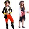 【佐川急便 無料配送】化妝舞會海賊衣装 キッズ男の子女の子海賊コスプレ衣装ハロウィン衣装の子供 たちキッズドレスのための 仮装パーティーガール衣装子供のコスプレダンスドレス衣装 プリンスキング