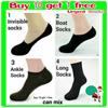 ♥buy10get1free♥mens socks bamboo fiber invisible socks loafer socks long socks ankle socks boat sock