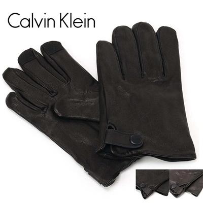 カルバンクライン Calvin Klein(CK) メンズ レザーグローブ/手袋 2977179の画像