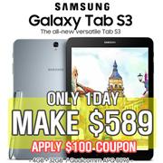 [MAKE $589!!] Samsung Galaxy Tab S3 9.7 Wifi or LTE model / SM-T820 / SM-T825