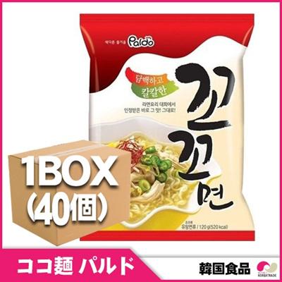 【韓国食品★ラーメン 】[1BOX40個] パルド ココ麺 [40個1ボックス★お得値段!]の画像