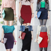 ★★Only Today Super Sale 28.9$→5.9$!!★★ XL~3XL Big Size Plus/ Big The Simple Skirt/ Plus Size Mini Skirt/ Big Hemming Simple Skirt/H Line Skirt/ Fast Shipping From Korea