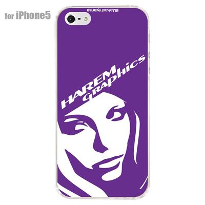 【iPhone5S】【iPhone5】【HAREM graphics】【iPhone5ケース】【カバー】【スマホケース】【クリアケース】 HGX-IP5C-021Bの画像