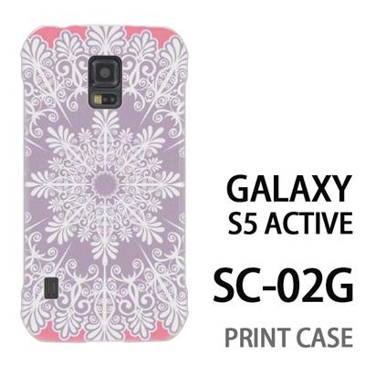 GALAXY S5 Active SC-02G 用『1216 結晶 白』特殊印刷ケース【 galaxy s5 active SC-02G sc02g SC02G galaxys5 ギャラクシー ギャラクシーs5 アクティブ docomo ケース プリント カバー スマホケース スマホカバー】の画像