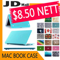 [JD Mall]🚚🚚Stock in Sinapore★Free Keyboard Protector★MacBook Case★Casinging Cover Matte Crystal Decal PU Rubberized Translucent Hard Cover Case Protective for Macbook Air Pro 11 12 13 15 inch
