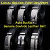 [Local Seller] Automatic Belt / Men's Casual Belt / Fashion Belt / Genuine Cowhide leather