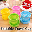 NEW ARRIVAL! Foldable Silicone Cup / Travel Cup foldable silicon drink travel cup tooth brush cup
