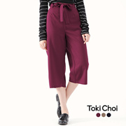 TOKICHOI - Culotte with Tie Waist-6019439-Winter
