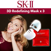 SK-II 3D Redefining Mask x 3- For Anti Aging and Lifting redefining facial contours