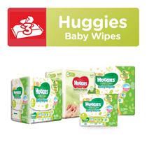[HUGGIES] Baby Wipes - Gentle Care Wipes / Nourishing Baby Wipes