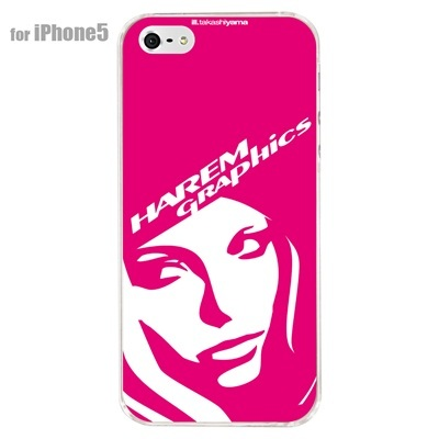 【iPhone5S】【iPhone5】【HAREM graphics】【iPhone5ケース】【カバー】【スマホケース】【クリアケース】 HGX-IP5C-021Dの画像