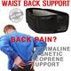 ★KOREA HIT★ Margnetic tourmaline waist back support belt pad brace protector lumbar guard numbus neoprene pain relief neck knee protection sports exercise health training gym Workout backache