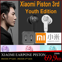 Original Xiaomi Piston 3 Youth / Colorful Edition Headphone Piston 3rd Bass Earphones Headset With Remote Mic For Phone MI3 4 Hongmi Note Retail box / Piston Hybrid 4th Generation / Original Product
