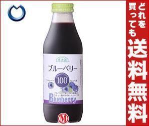 【送料無料】マルカイ順造選ブルーベリー100500ml瓶×12本入※北海道・沖縄・離島は別途送料が必要。