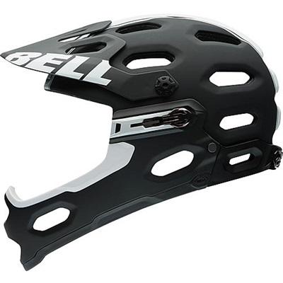 ベル(BELL) ヘルメット SUPER 2R / スーパー 2R ALL-MOUNTAIN マットブラック/ホワイトバイパー 【自転車 サイクル レース 安全 二輪】の画像
