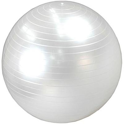 ラッキーウエスト(Luckywest)ヨガボール55cmパールホワイトLG-321【バランスボール/空気入れ付き】