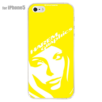 【iPhone5S】【iPhone5】【HAREM graphics】【iPhone5ケース】【カバー】【スマホケース】【クリアケース】 HGX-IP5C-021Hの画像