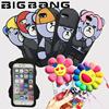 gd 彼氏の電話が来ました!BIGBANG KRUNK 十周年日本ケース シリコン iphone6/6s iphone6 plus ケース GD/TOP/SOL/VI/D-LIKE