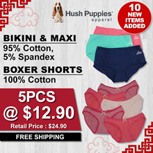 $12.90 FOR 5 PCS PANTIES PACK | LADIES BIKINIS! PLUS SIZE! BOXERS! ONLY $2.58/PIECE | FREE DELIVERY