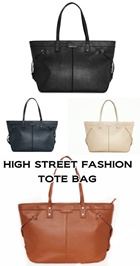 MG SIDE STRAP ORNATE SHOULDER TOTE BAG {4 COLORS: Nude Black Navy Camel} + Free Registered Mail Delivery