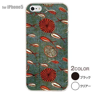 【iPhone5S】【iPhone5】【アルリカン】【iPhone5ケース】【カバー】【スマホケース】【クリアケース】【その他】【アフリカン テキスタイルパターン】 01-ip5-con079の画像