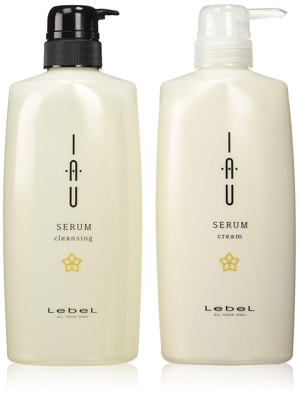 LEBEL IAU Revel Io Serum Cleansing Shampoo 600ml/Cream Treatments 600ml Set