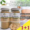 1+1 Pure Old Bentong Ginger Powder 160g Reduce Bloating Warm the Body Improve blood Circulation