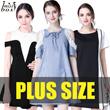 【26/3 SUPER SALE】600+ style S-7XL NEW PLUS SIZE FASHION LADY DRESS OL work dress blouse TOP