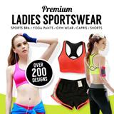 *New Arrival*Buy 3 Free Shipping! Premium Ladies Sportswear sportwear Yoga Pants Yoga Bra/Gym Wear/Capris/Shorts/Running Bra- LuluLem Running Short