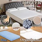 Topper memory foam Organic Cotton! Soft Cotton Dream Form Ventilated Memory Foam Mattress Topper singapore shipping 2days