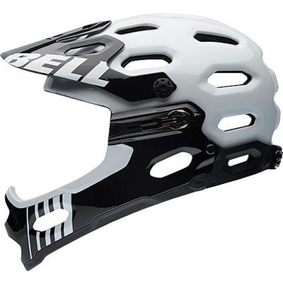 ベル(BELL) ヘルメット SUPER 2R / スーパー 2R ALL-MOUNTAIN ホワイト 【自転車 サイクル レース 安全 二輪】の画像