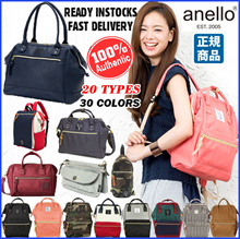 【BUY 2 FREE SHIPPING】Japan ANELLO BACKPACK❤Original ANELLO series❤Lowest Price ❤Fast delivery!Japan ANELLO BACKPACK ❤ PU BACKPACK / Mummy Bag / Unisex Casual Bag / Student Bag / FREE GIFT(Panda dolls)