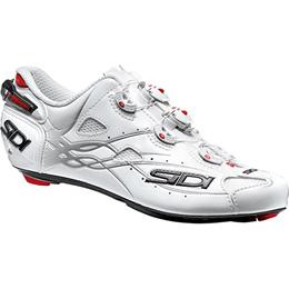 シディ(SIDI) ビンディングシューズ ショット SHOT WHT/WHT 【自転車 サイクル ロード 靴 SPD-SL】