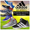 ADIDAS RUNNING TRAINING MEN AND WOMEN SHOES-100% AUTHENTIC