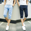 2017 Men Summer Thin Slim Design Casual Shorts Berms 7th Pants Buy 2 Free Shipping