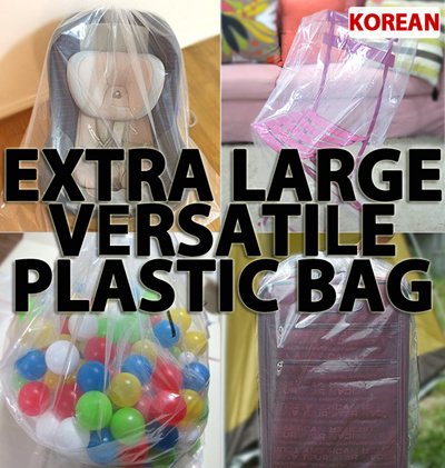 Qoo10 Extra Large Versatile Plastic Bag 3ea Storage Bag Toy Car Seat Furniture Deco