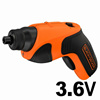 BLACK and DECKER MiniEVO Screw Driver CS3651LC / 1.3Ah Built In Battery / LED Light / Charging Drill  [FREE SHIPPING]