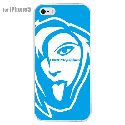 【iPhone5S】【iPhone5】【HAREM graphics】【iPhone5ケース】【カバー】【スマホケース】【クリアケース】 HGX-IP5C-023Cの画像