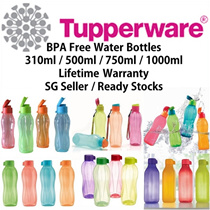 SG Seller ★Authentic Tupperware★ Water Bottles * BPA Free * Corporate Gifts * Conference * Goodie Bag * Wedding * Lifetime Warranty